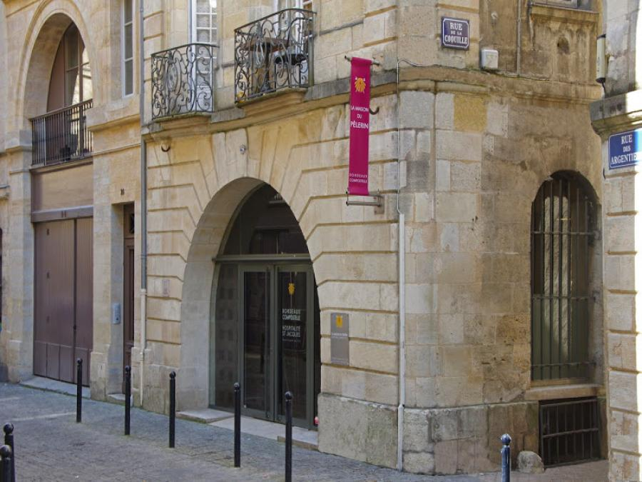 La maison du pèlerins à Bordeaux (Gironde)