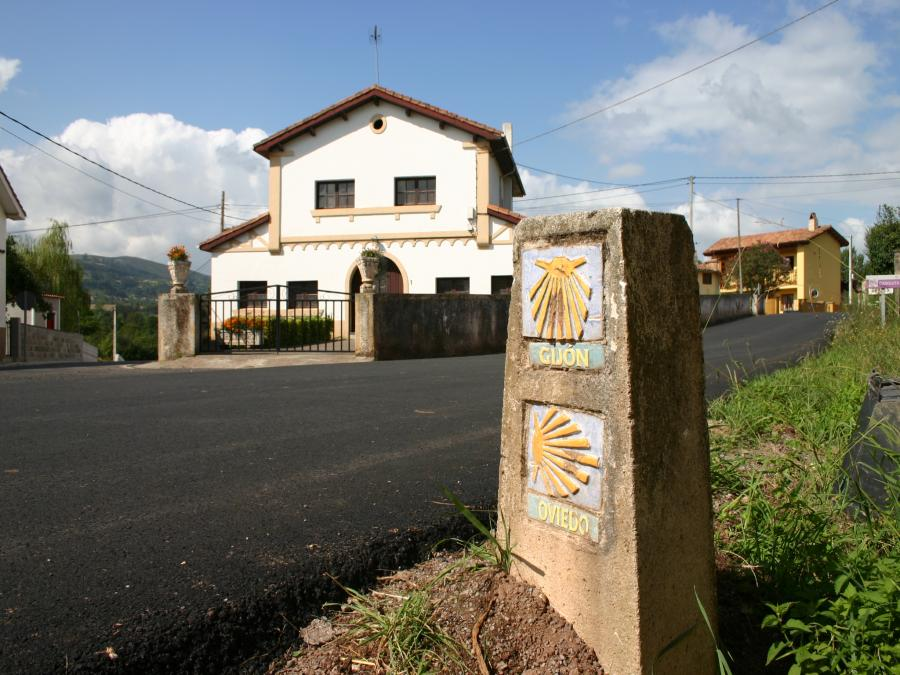 Entre Oviedo et Gijon (Espagne)