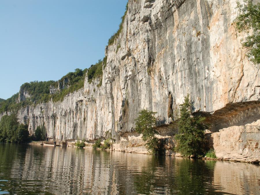 Chemin de halage Saint-Cirq-Lapopie ©Virgine Seguin (Lot)
