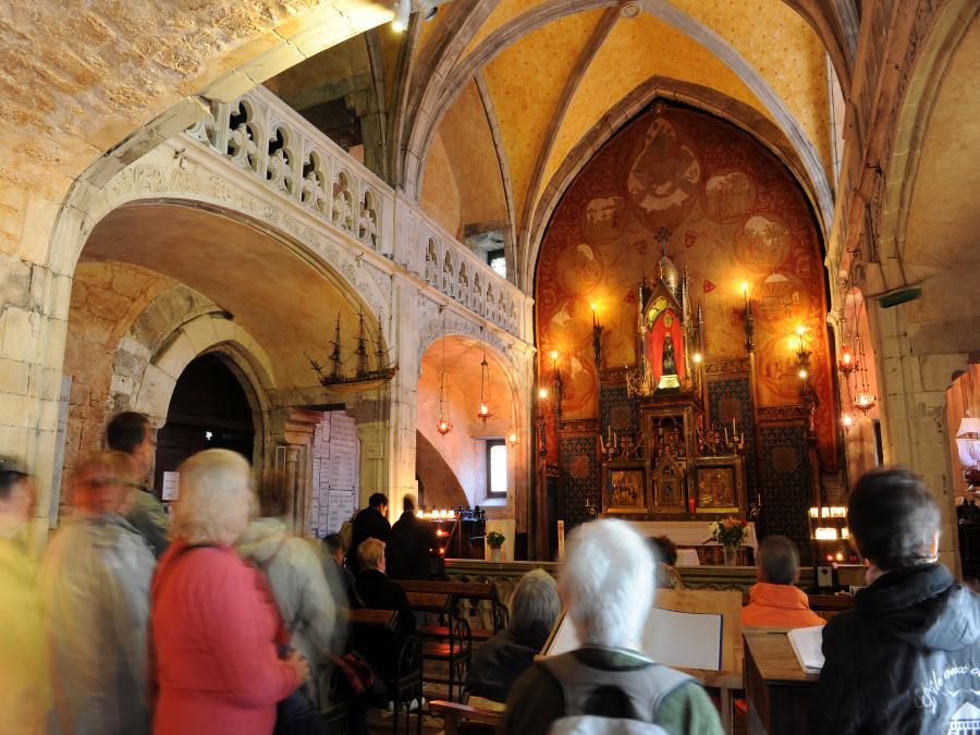 La chapelle Notre-Dame à Rocamadour ©Gelbart (Lot)
