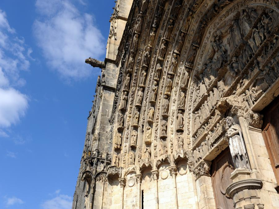 Ancienne cathédrale Saint-Jean-Baptiste à Bazas (Gironde)