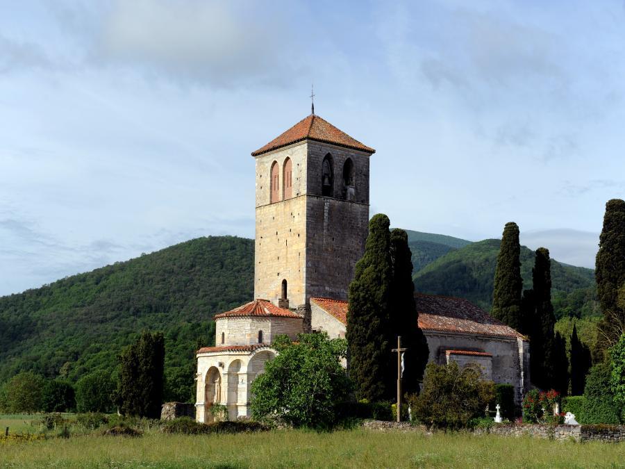La basilique Saint-Just à Valcabrère ©Gelbart (Haute-Garonne)