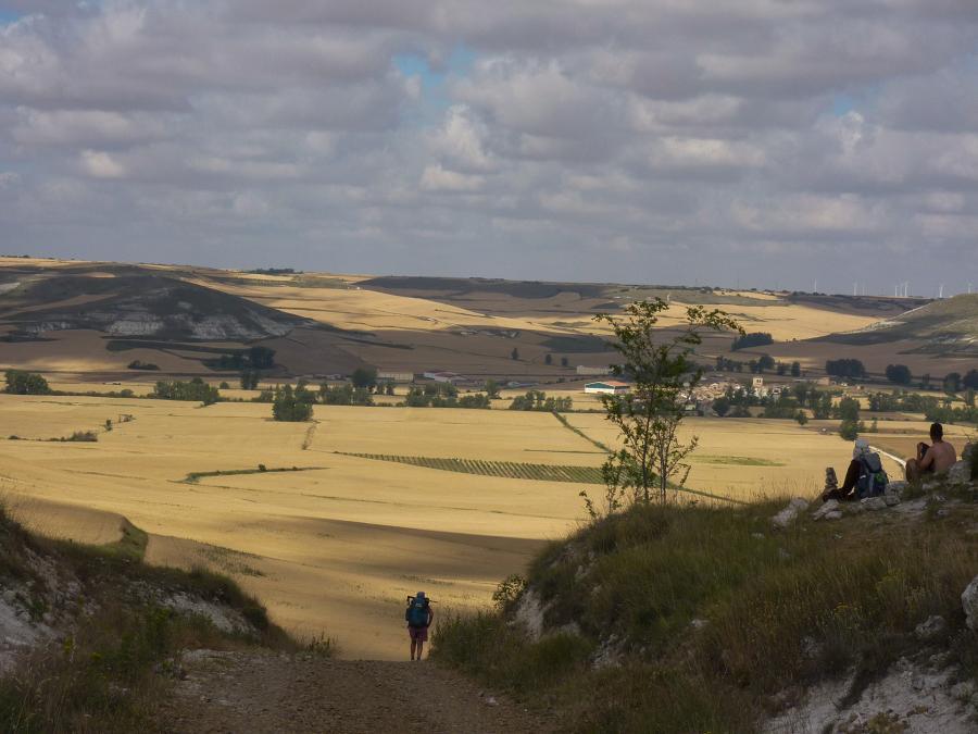 Entre Burgos et Hontanas (Espagne)