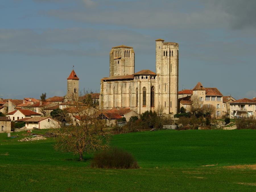 La collégiale de La Romieu (Gers)