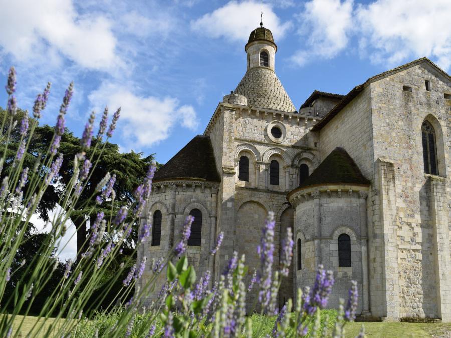 L'église prieurale de Moirax (Lot-et-Garonne)