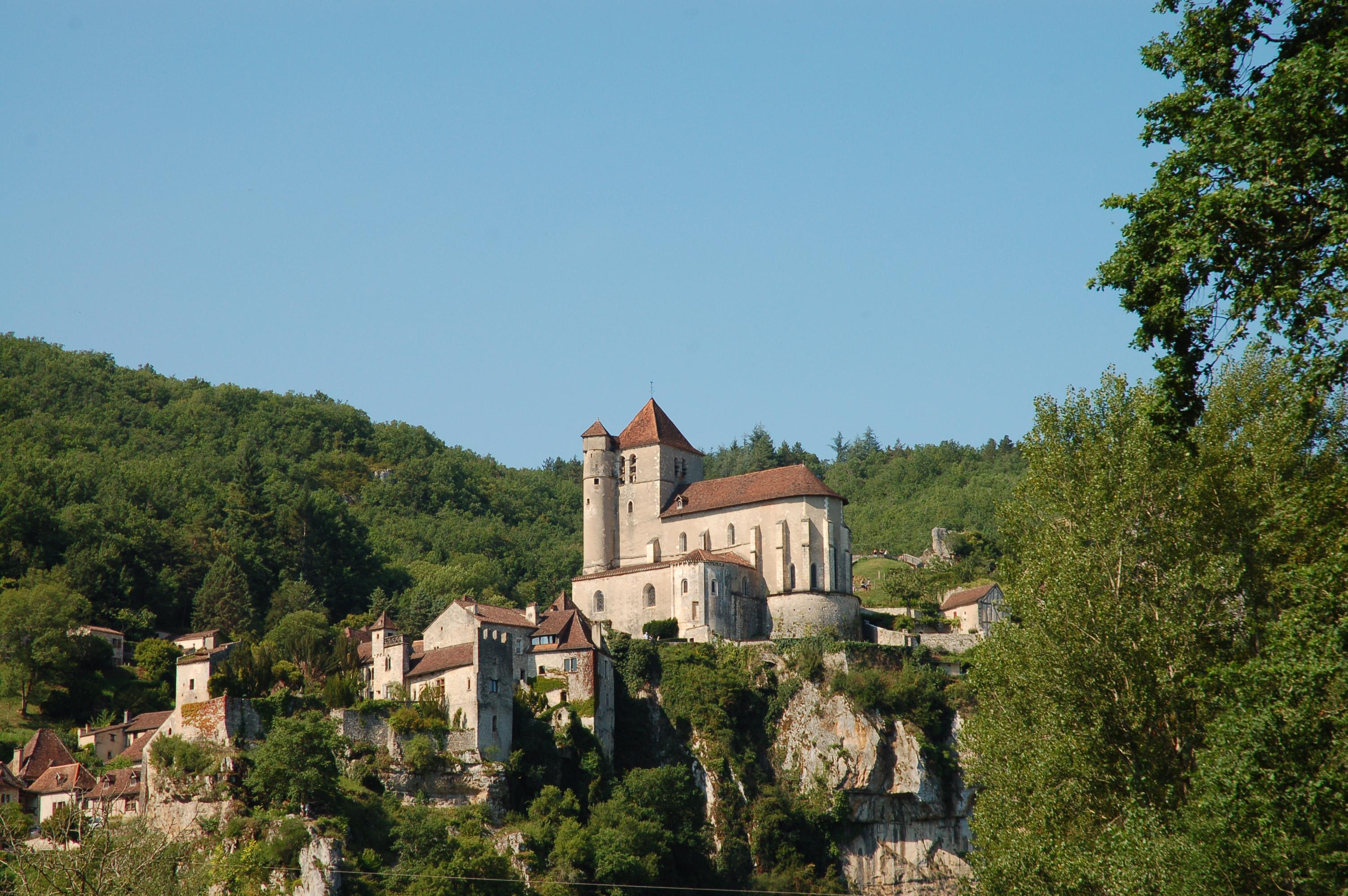 Saint-Cirq-Lapopie ©V-seguin-OTCahors-StCirq Lapopie (Lot)